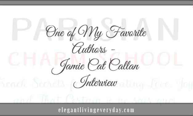 One of My Favorite Authors – JAMIE CAT CALLAN Interview