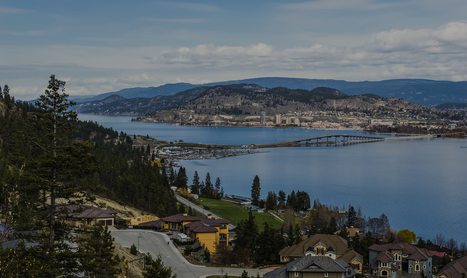 Elegantly Wooden - West Kelowna View