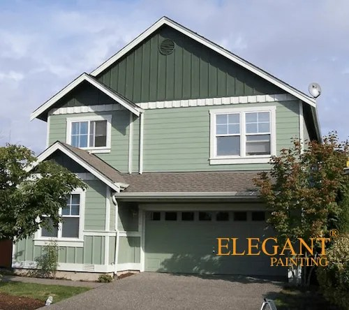 House Painting Contractors Greensboro: Hardie Plank Sided Homes