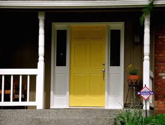 yellow front door sammamish