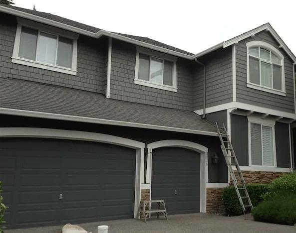 Gray exterior paint colors - Elegant painting®