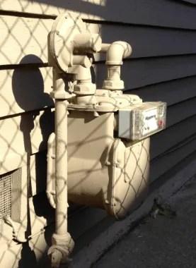 paint gas meter box