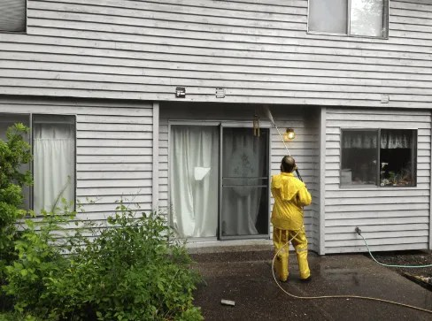 eastside power washing house