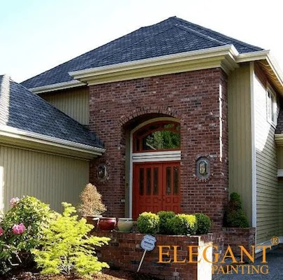 exterior paint colors that go with red brick Archives - House ...
