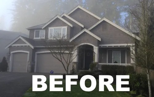 green leaf snohomish WA exterior painting