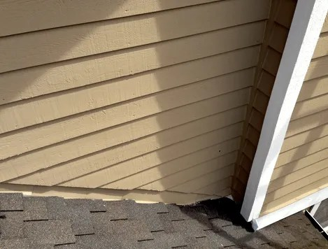 roof flashing painted?