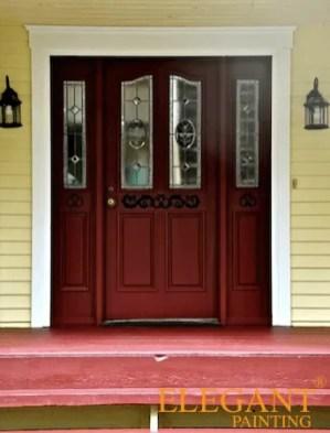 red door white trim