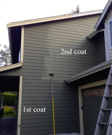 covering driveway overspray