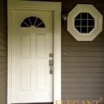 white frotn door