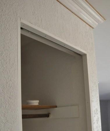 How to install trim on bi-fold closet doors