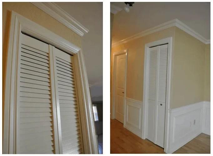 how to install trim on bi fold closet doors. Black Bedroom Furniture Sets. Home Design Ideas