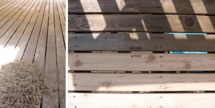 bellevue deck staining