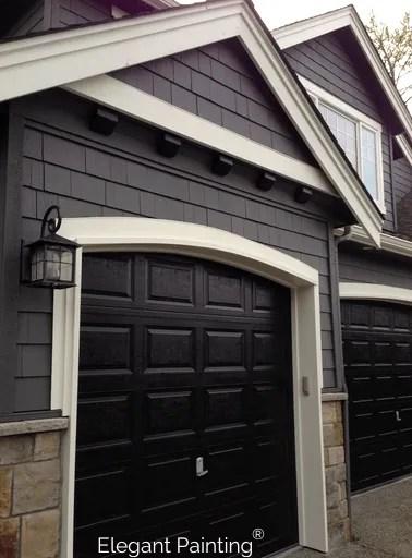 Painting garage doors; siding, trim, or accent color on Garage Door Color  id=91797