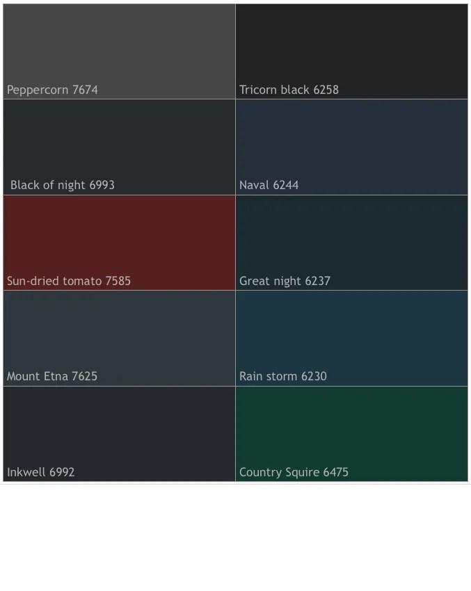 popular front door colors 2016