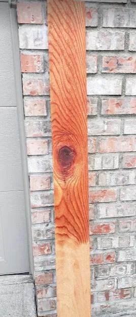 fence board cedar thompson clear