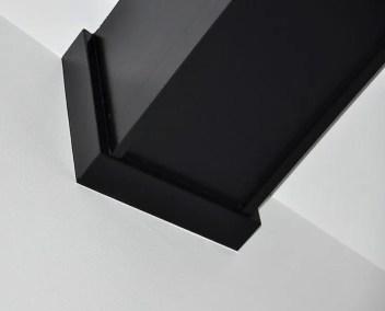 black color beam interior