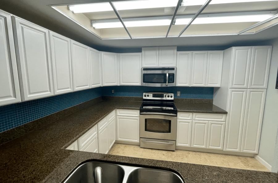 redmond wa painted kitchen