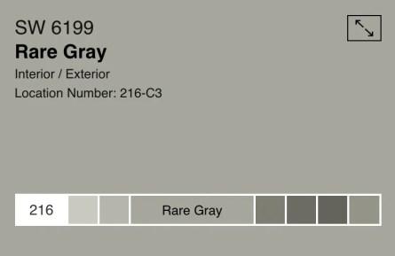rare gray