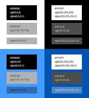 87 Blue Colors Rgb  Perceptual Rainbow Palette The Goodies, Color Rice University RGB Model