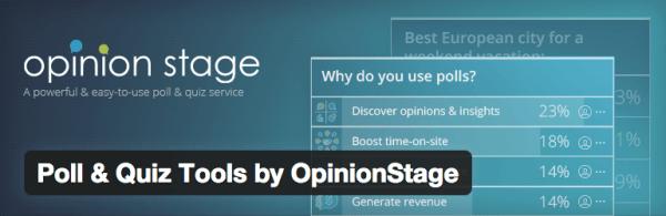 opinion stage plugin Wordpress sınav eklentileri