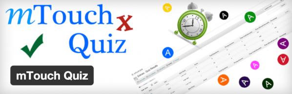 mtouch quiz 1024x330 Wordpress sınav eklentileri