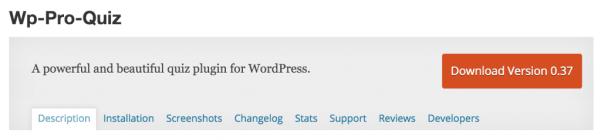 wp pro quiz 1024x239 Wordpress sınav eklentileri