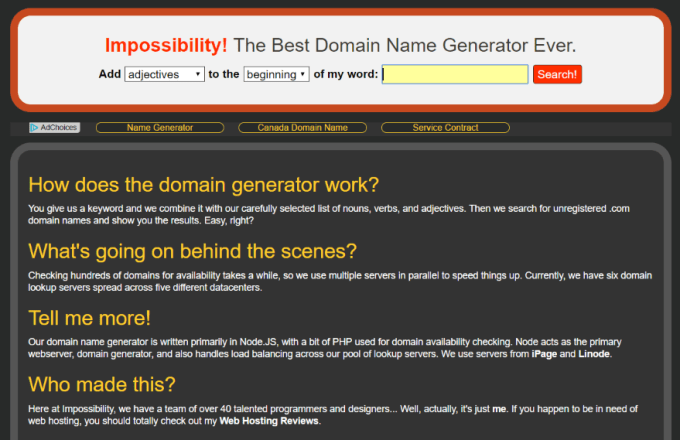 21 Domain Name Generators To Help You Find The Perfect
