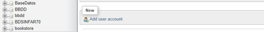 Adding a new user account to your database.