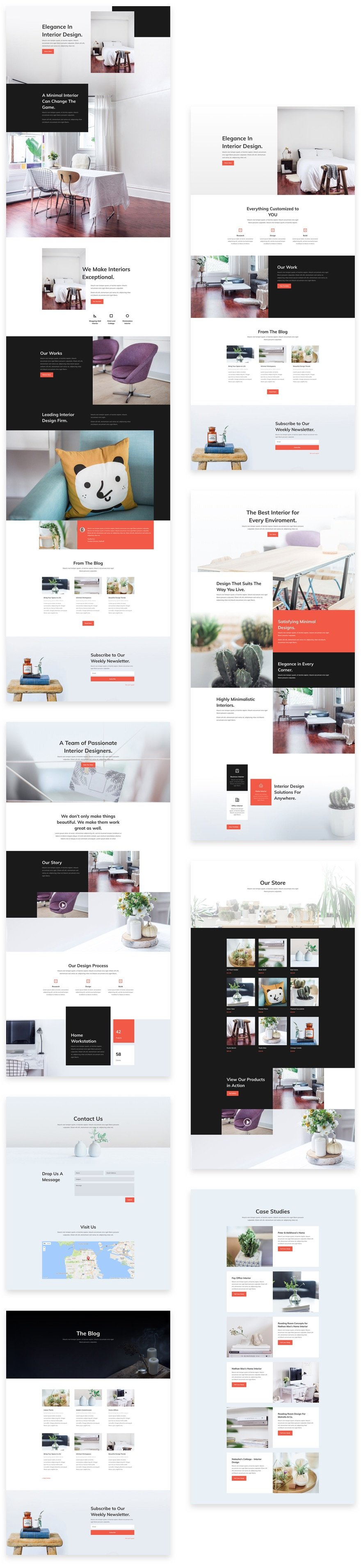 Download A Free Refreshing Interior Design Layout Pack For Divi Elegant Themes Blog
