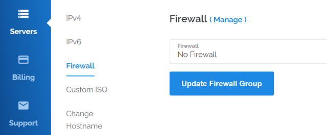 Configuring your internet's firewall.