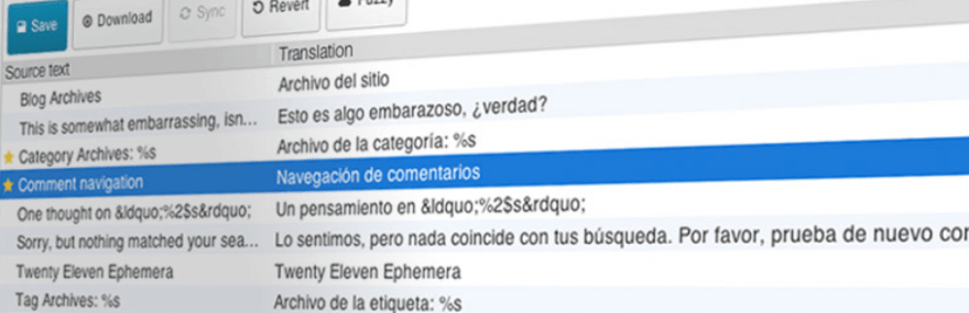 The Loco Translate plugin.
