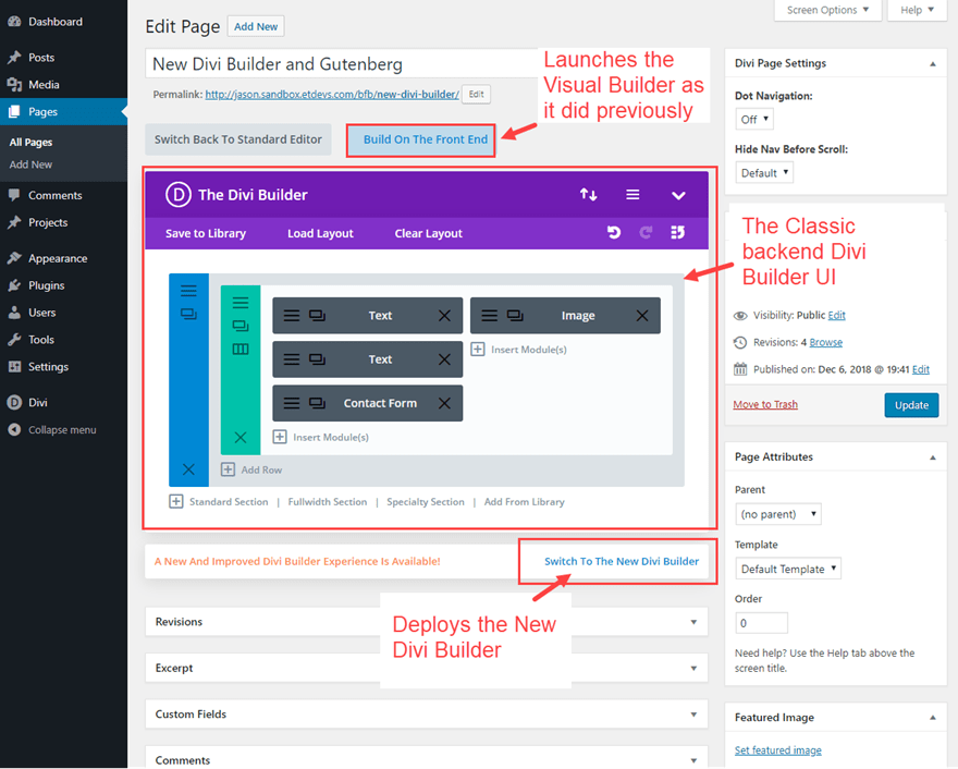 bfb2 Gutenberg and the New Divi Builder Experience