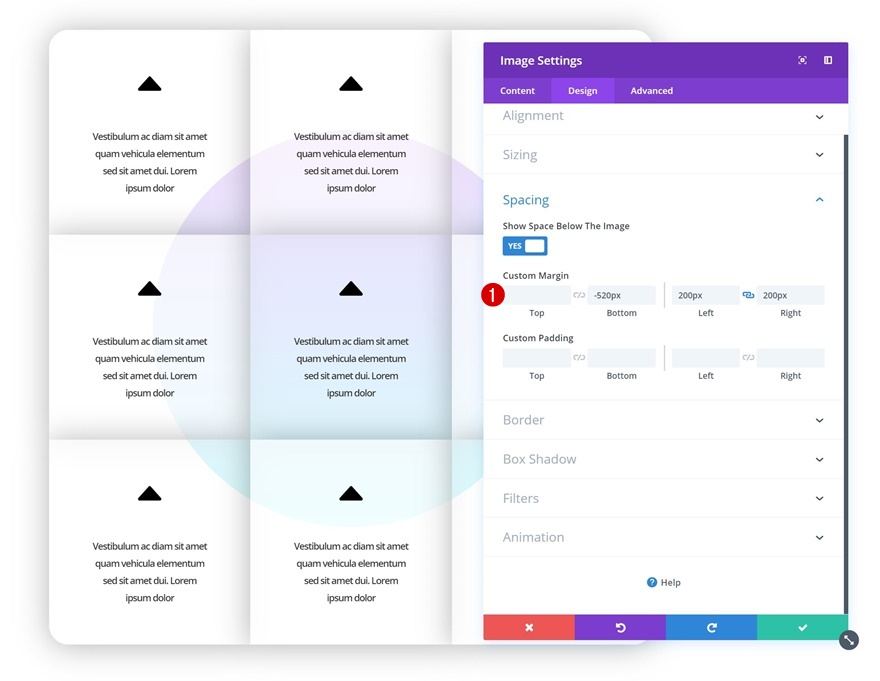 nca4 How to Apply Colliding Animations to Design Elements with Divi