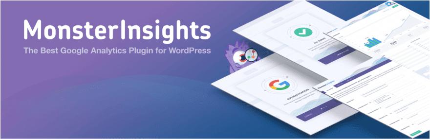 The MonsterInsights Google Analytics plugin for WordPress.