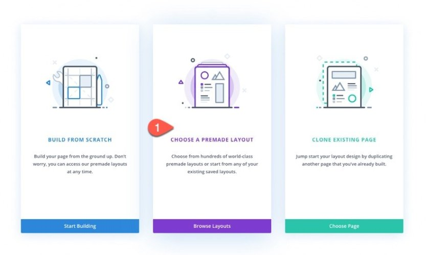 Divi Timeline Layout with Scroll Effects