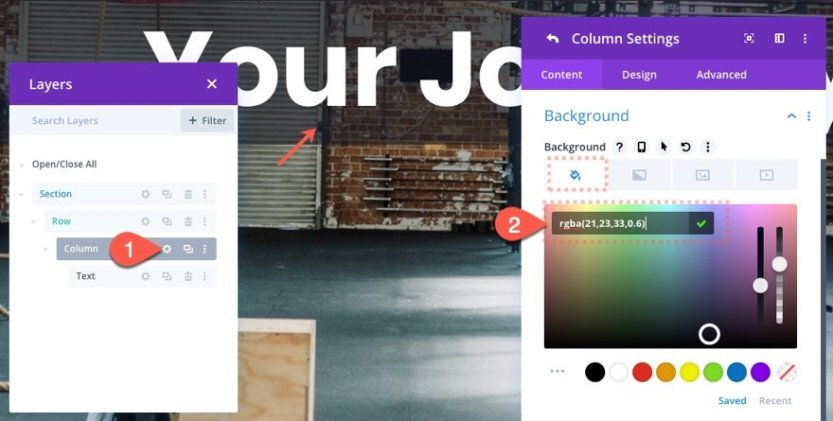 zoom-out header divi scroll effect