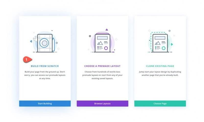 divi vertical navigation menu and header