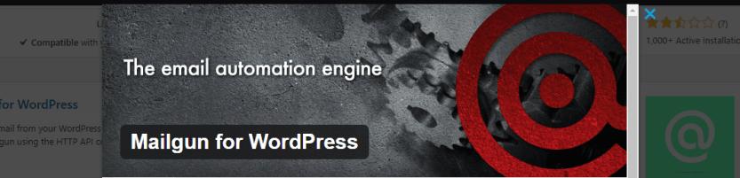 The Mailgun for WordPress plugin.
