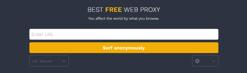 An example of a web proxy.