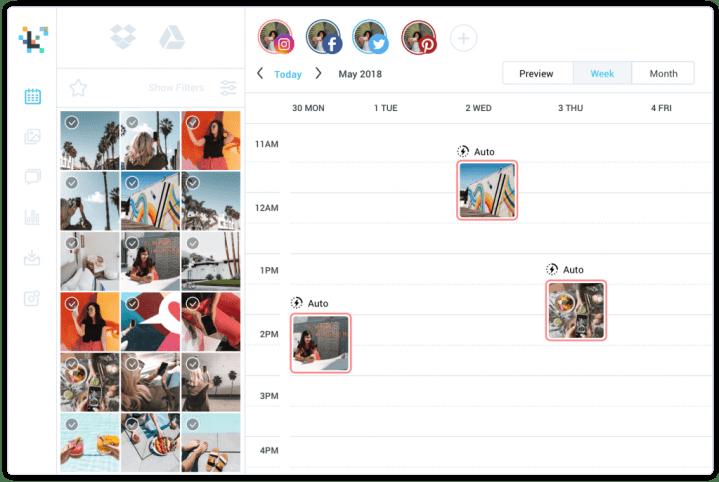 Instagram scheduler