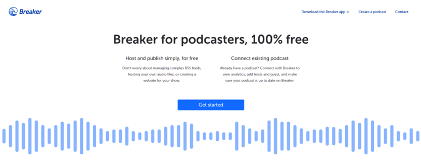 breaker podcasting
