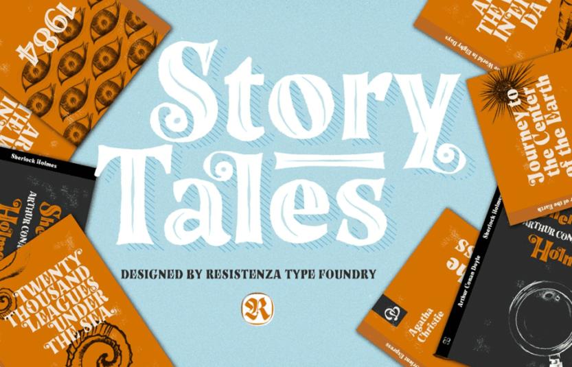 story tales fantasy font