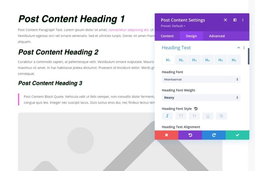 blog post template for Divi's Virtual Fitness Layout Pack