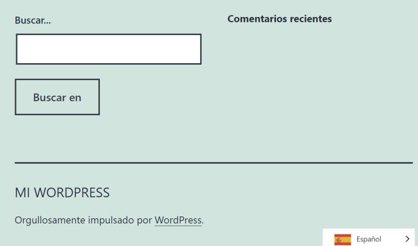 Translating a website to Spanish using Weglot