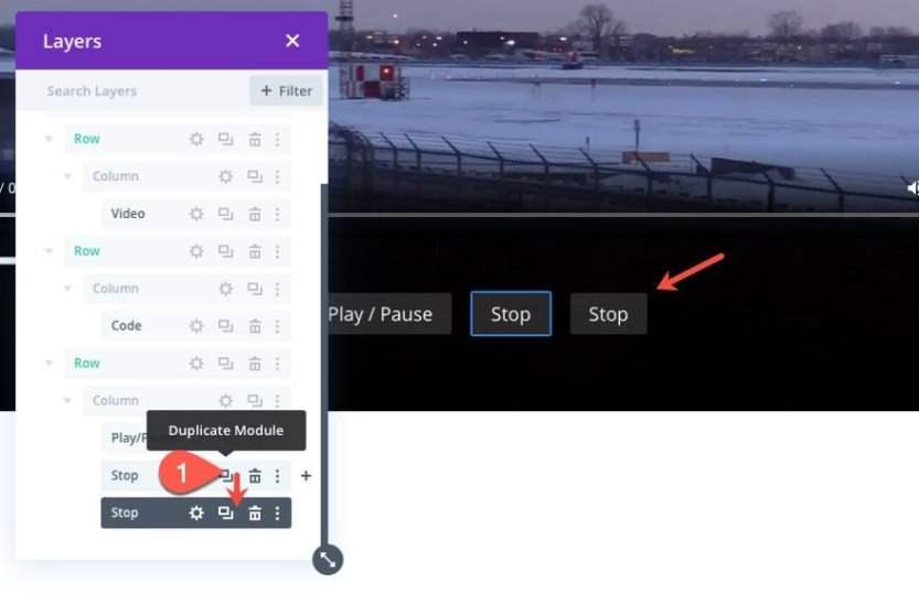 divi custom html5 video controls