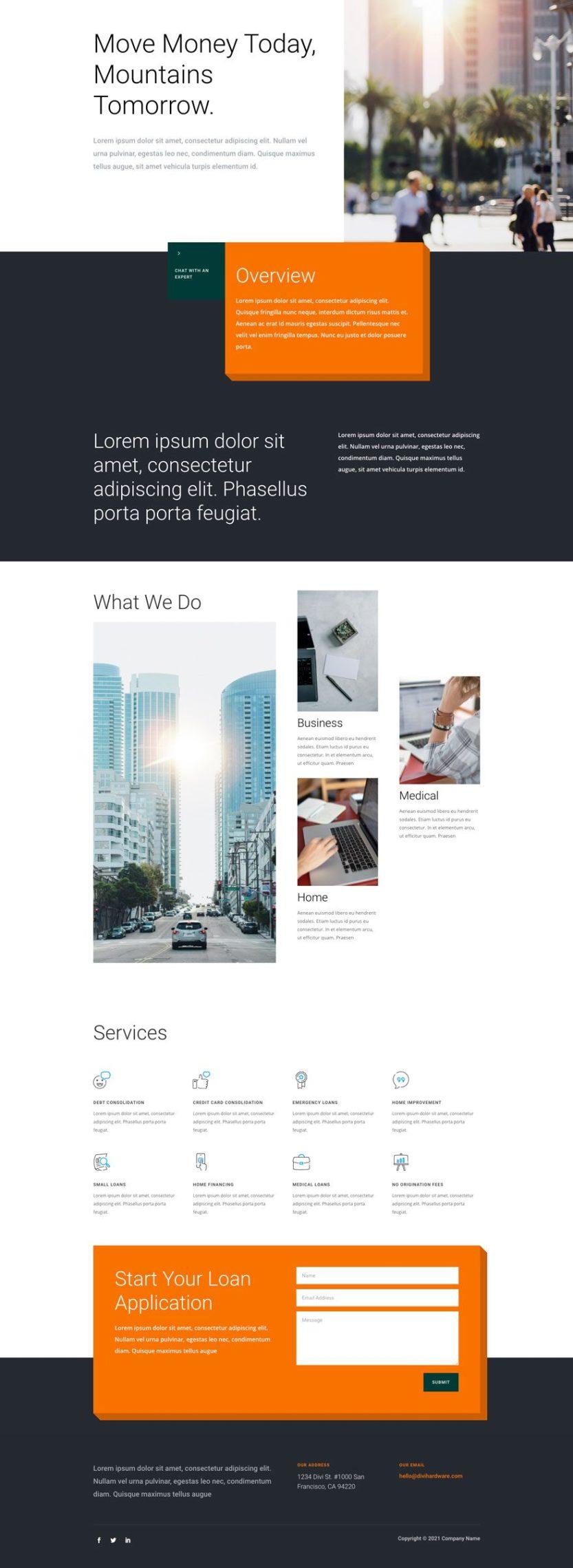 personal loan website