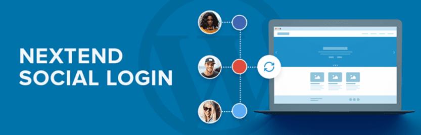 The Nextend Social Login and Register Facebook plugin for WordPress
