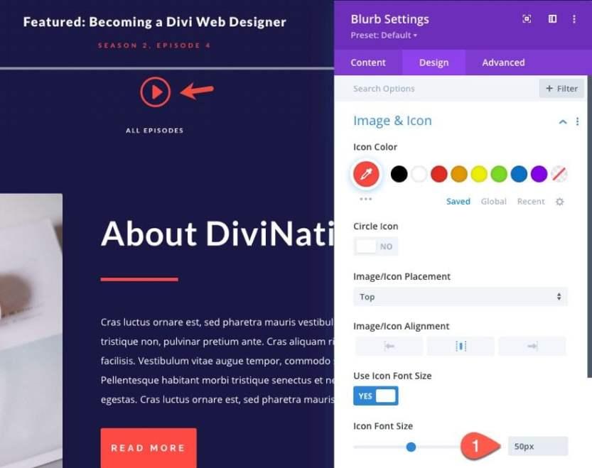 divi sticky audio content bar