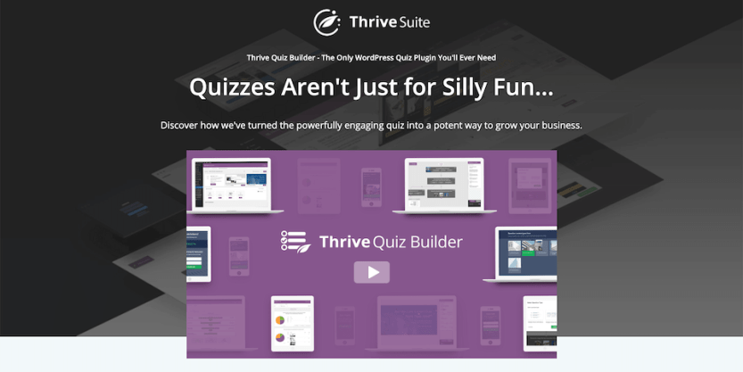 The Thrive Quiz Builder.