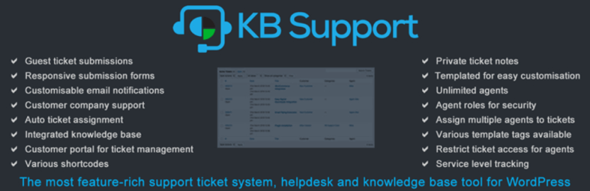 The KB Support plugin